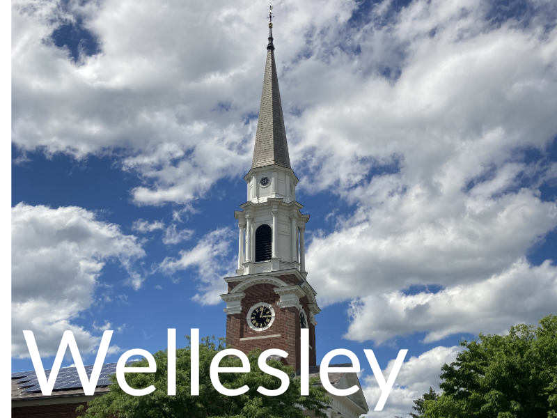 Wellesley Church Steeple